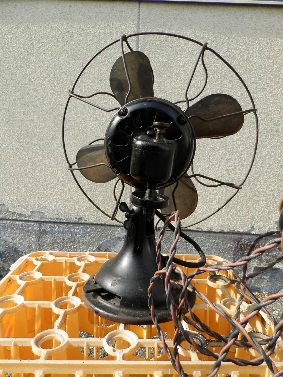 ★☆最初期 明治時代  東芝扇風機 2001タイプ 3速 整備済み 首振りOK☆★_画像5