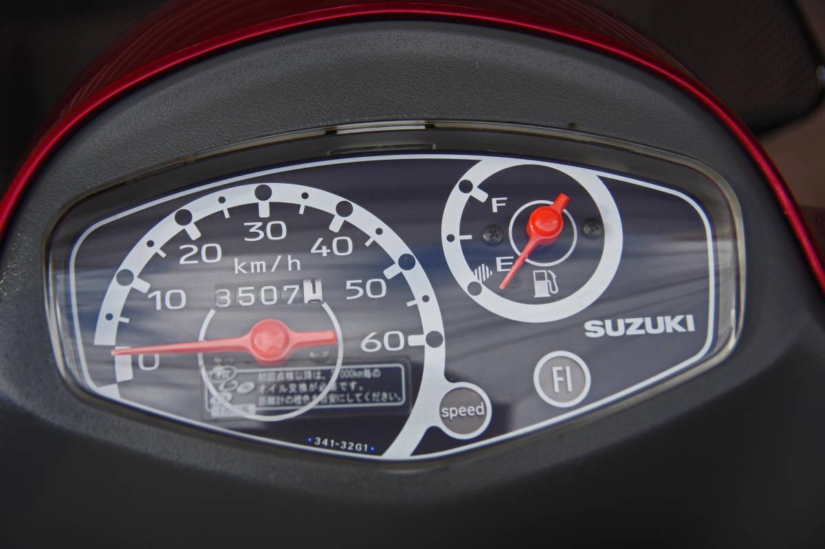 売り切り!! レッツ4G Fi(CA41A) ★SUZUKI Let`s4G Fi★ 原付 50cc 大阪より_画像8