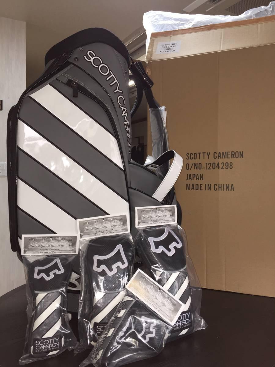 激レア! Scotty Cameron・Staff Bag ・ヘッドカバーセット! 175本限定品・格安!