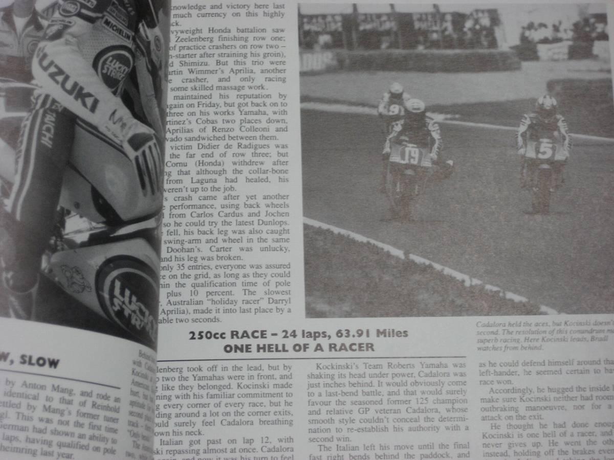 1990年 Motorcycle Grand Prix Year 洋書_画像4