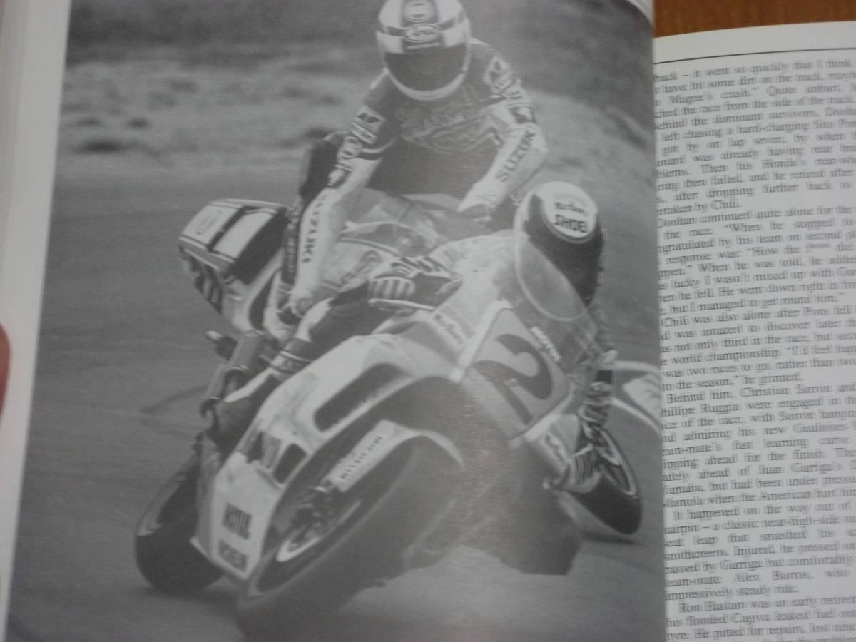 1990年 Motorcycle Grand Prix Year 洋書_画像5
