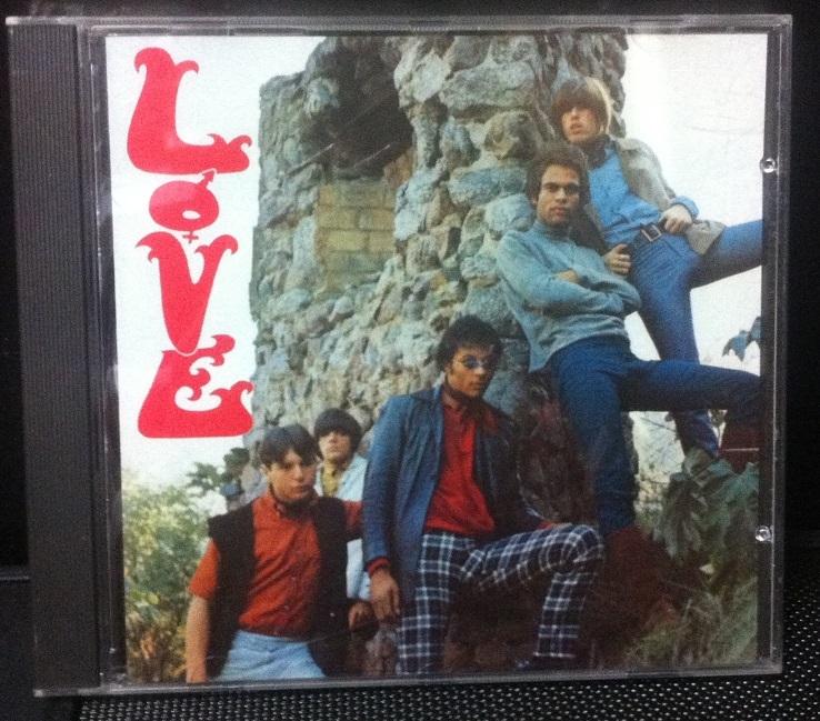 60'sサイケの名盤★Love ラヴ 1stアルバム 輸入盤CD★アーサー・リー ★ガレージロック_画像1