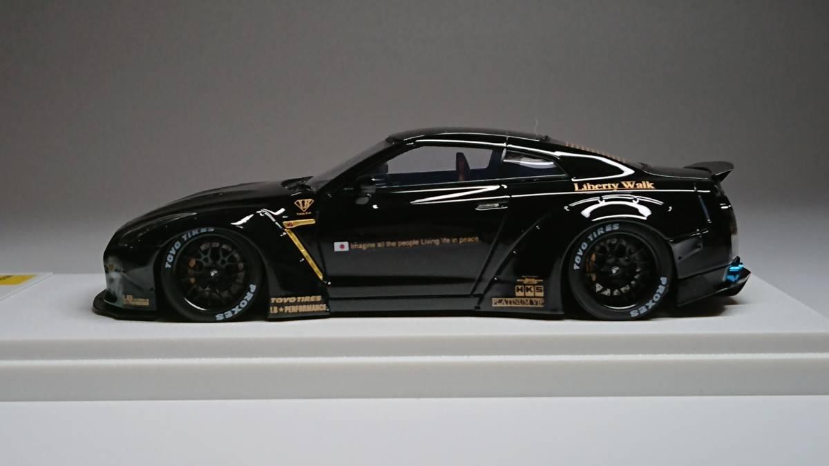 メイクアップ直販 アイドロン 1/43 LB☆WORKS R35 GT-R ダックテールver. Black