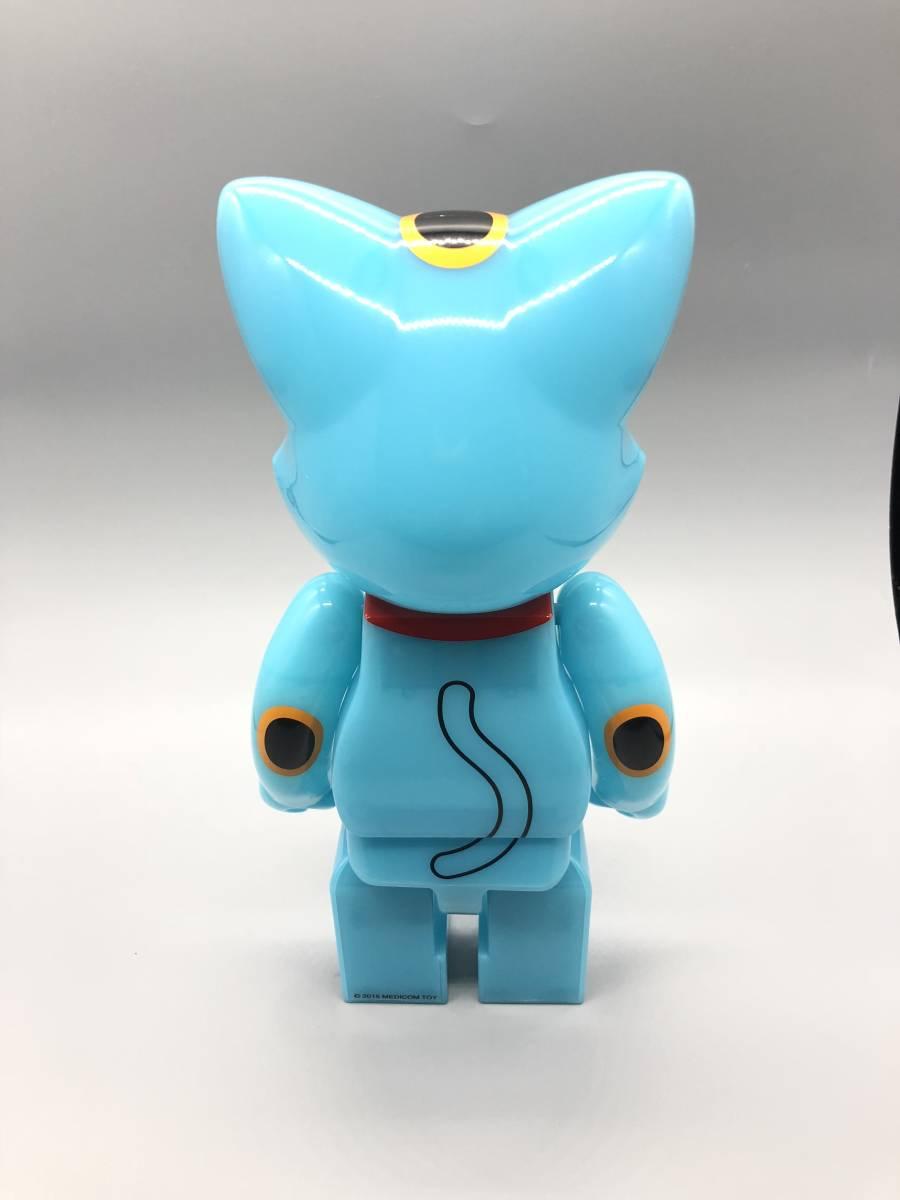 招き猫 ニャーブリック 青蓄光 400% 東京スカイツリー ソラマチ限定_画像5