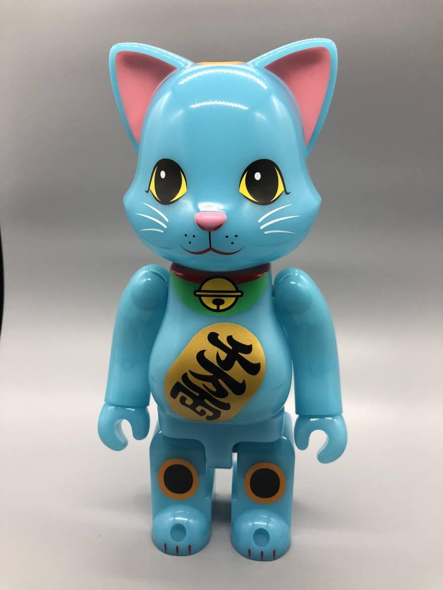 招き猫 ニャーブリック 青蓄光 400% 東京スカイツリー ソラマチ限定_画像3
