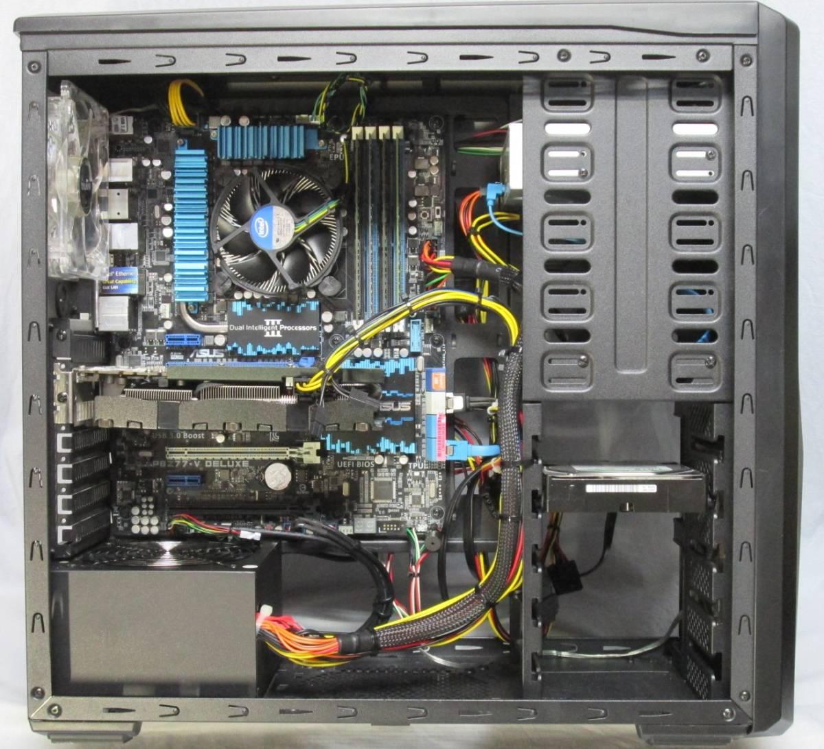 〓〓■自作 i7 3770 (3.4GHz)★12G /SSD 240G HD 1TB /GTX760 /BD-REi /Win10_画像4