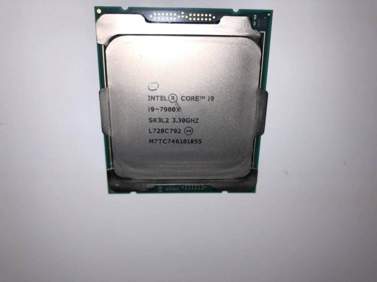 【完動美品】 Intel CPU Core i9-7900X 3.3GHz/4.30GHz LGA2066 13.75MB/L3キャッシュ 10コア/20スレッド_画像2
