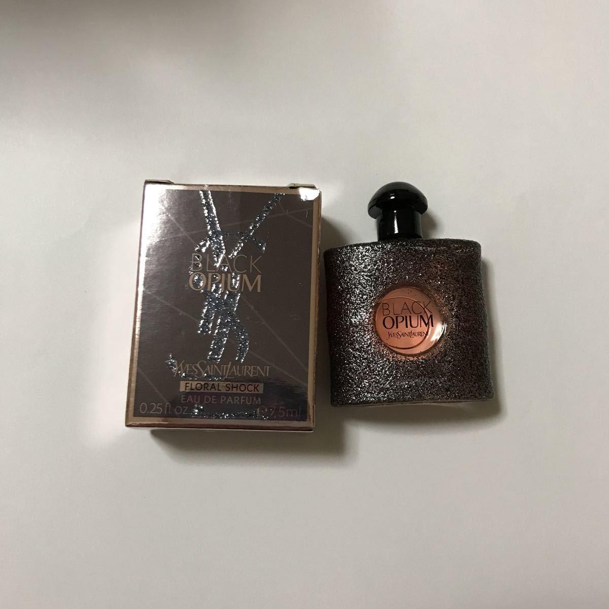 Sun Rolan Black Opium Floral Shock Miniature Perfume Mini Bottle