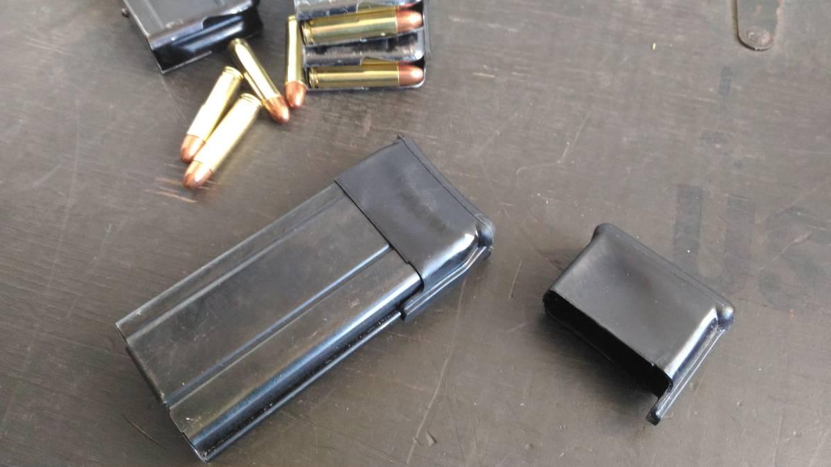 米軍 M1カービン マガジン ラバーキャップ 2個セット_使用例の参考写真です。