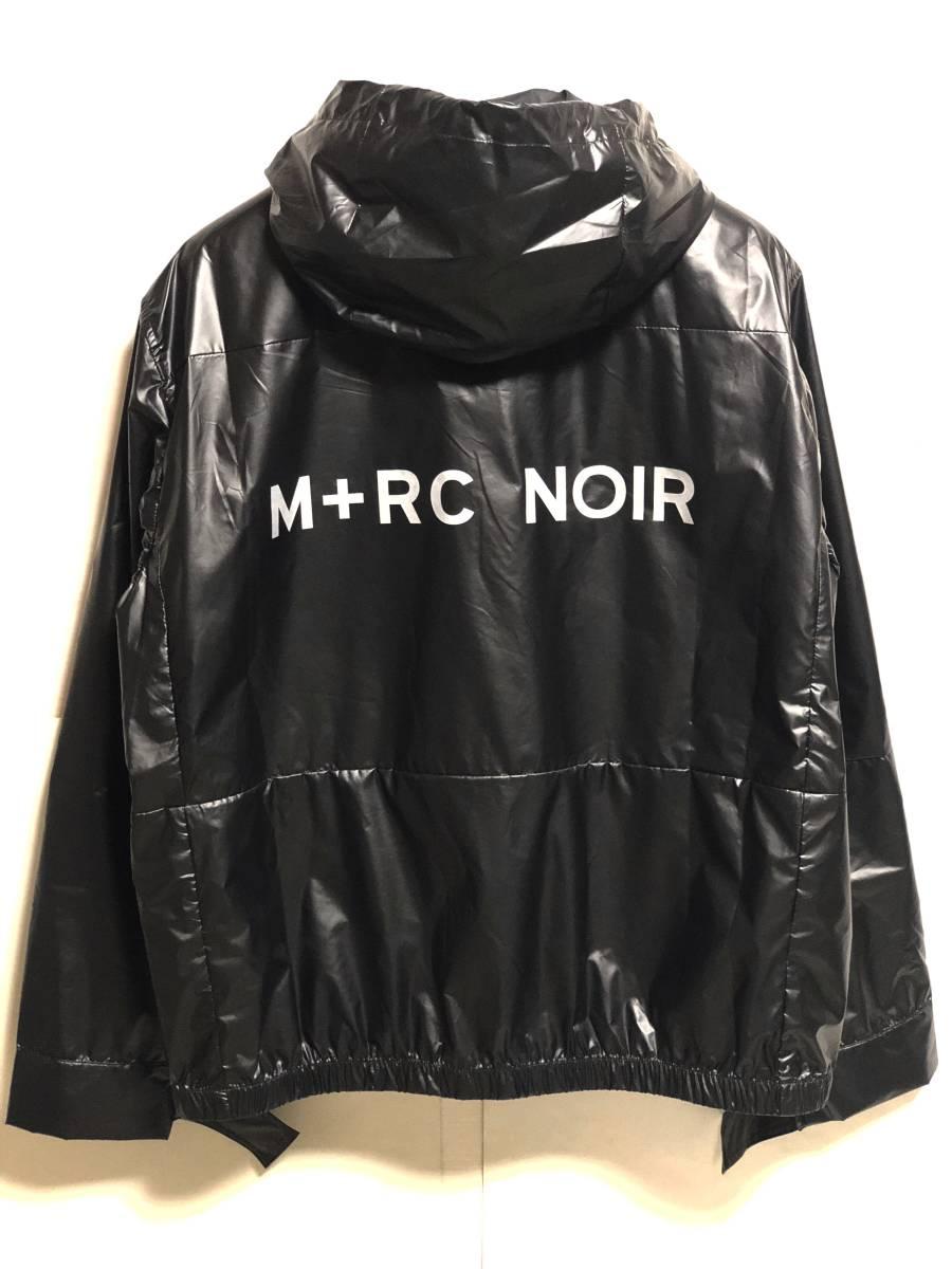 123d04d7c8 M+RC NOIR マルシェノア 18AW CARBON JACKET BLACK XL カーボン ブラック ナイロン ジャケット フーディ