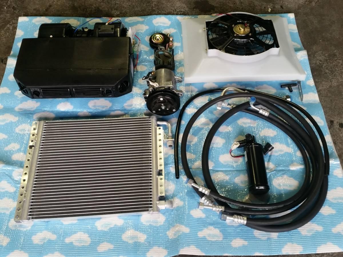 汎用クーラーユニット フルセットR134a アメ車・欧州車・国産車の旧車等に! ハコスカ ケンメリZ インパラ カマロ トランザム等に!_画像1
