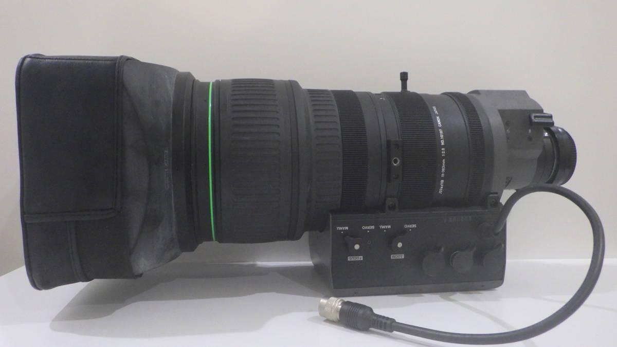 ♪♪♯1519 衝撃の1円スタート! Canon BCTV Zoom Lens J33ax11B 11-363mm 1:2.0
