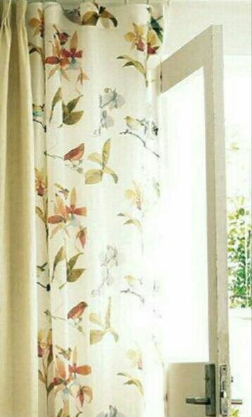 川島織物セルコン オーダーメイドカーテン 光沢 ホワイト スタンダード_画像1