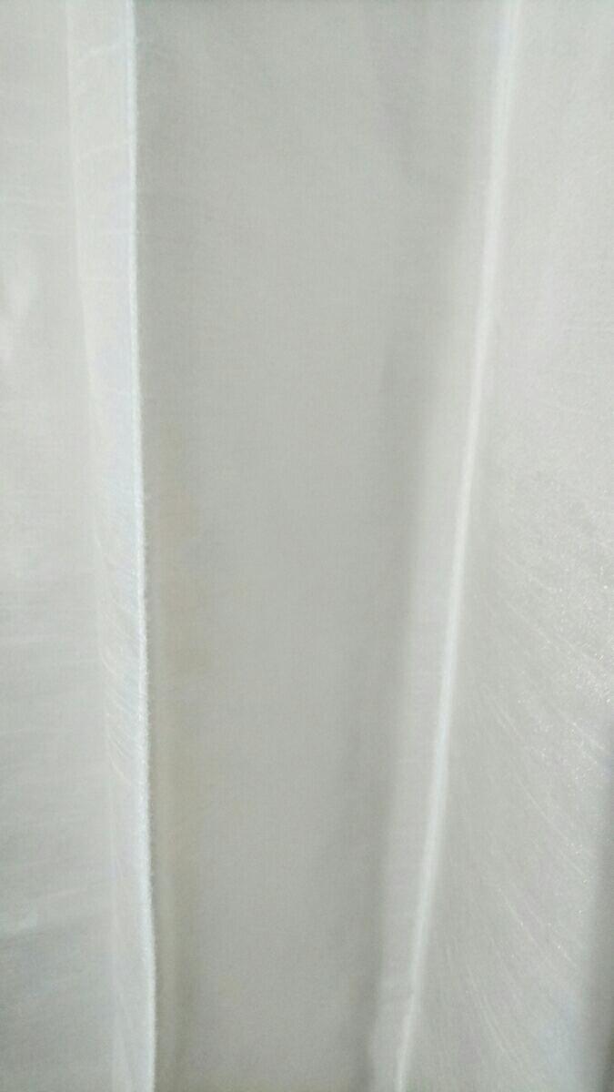 川島織物セルコン オーダーメイドカーテン 光沢 ホワイト スタンダード_画像4