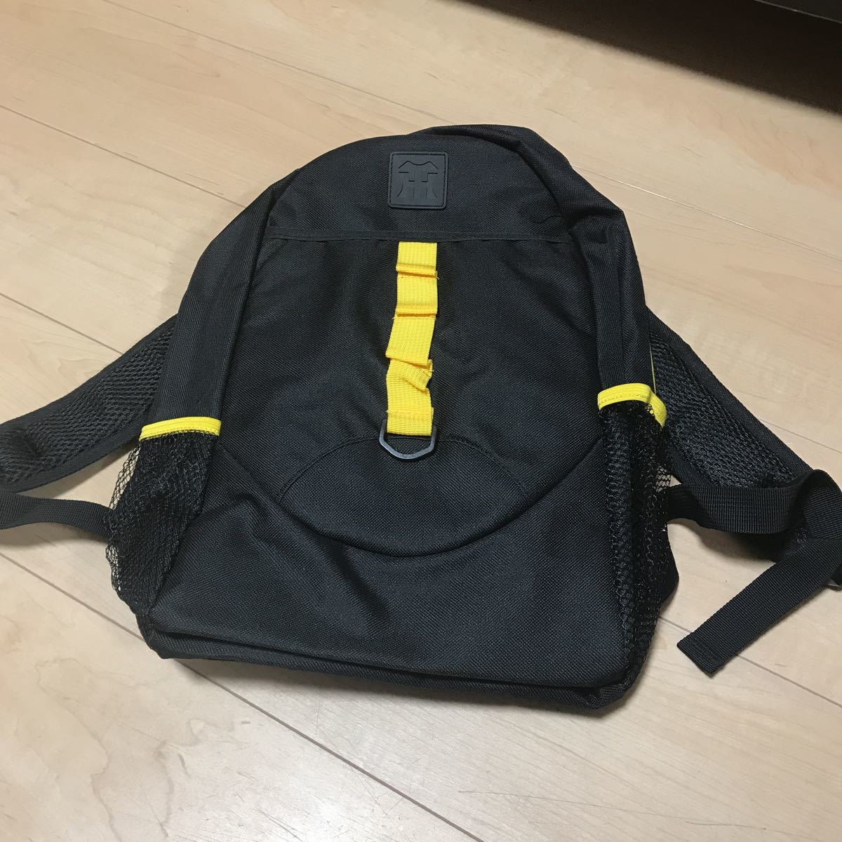 未使用 阪神タイガース リュック キッズ 非売品 応援グッズ ブラック/イエロー_画像1