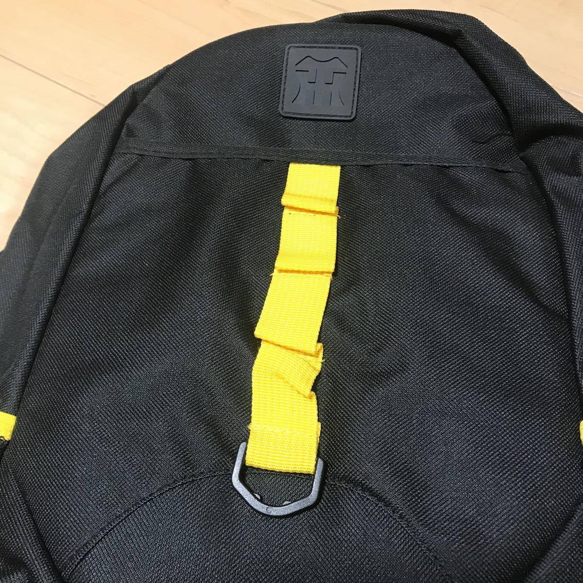 未使用 阪神タイガース リュック キッズ 非売品 応援グッズ ブラック/イエロー_画像2
