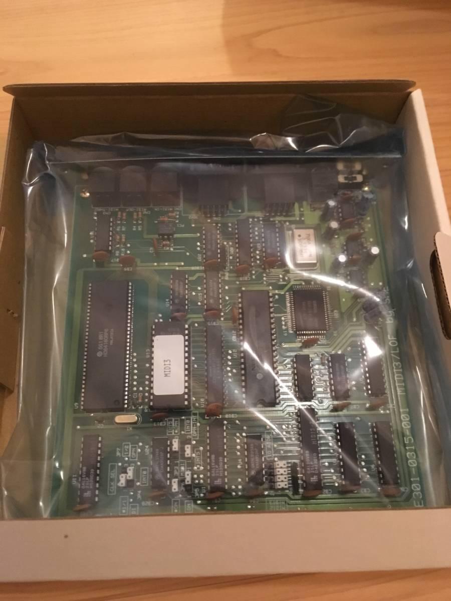 希少な未使用新品! MIDIインタフェース搭載 FM音源ボード MIDI ORCHESTRA MIDI-2 (SNE製) PC-98シリーズ Cバス用_画像3