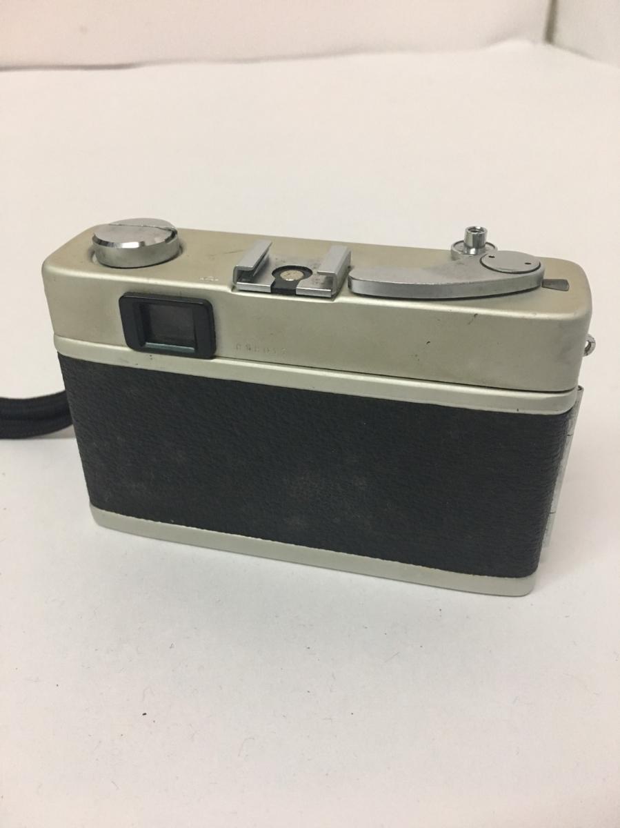 コニカ KONICA C35 フィルム カメラ レンジファインダー HEXANON f=38mm 1:2.8 コンパクト レトロ コレクション 動作未確認のためジャンク_画像2