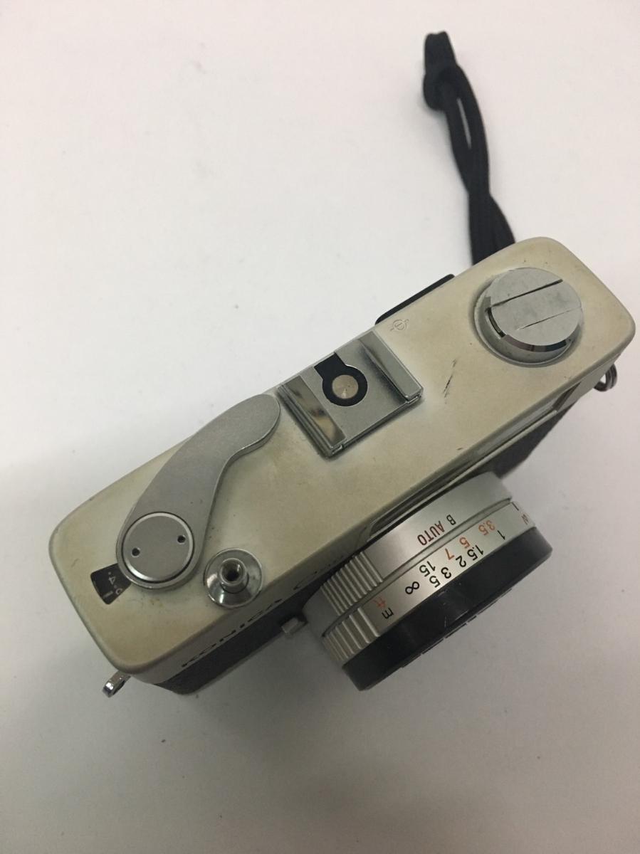 コニカ KONICA C35 フィルム カメラ レンジファインダー HEXANON f=38mm 1:2.8 コンパクト レトロ コレクション 動作未確認のためジャンク_画像4