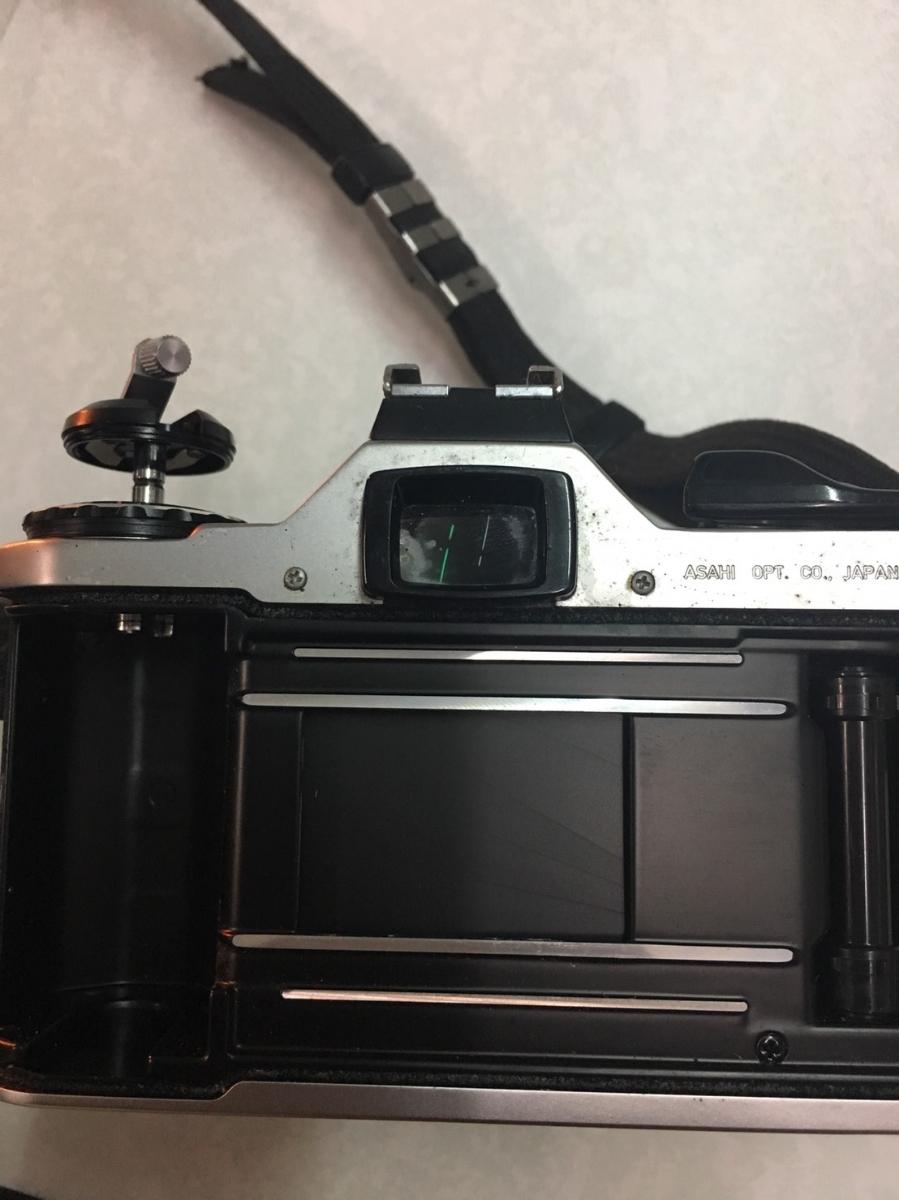 コニカ KONICA C35 フィルム カメラ レンジファインダー HEXANON f=38mm 1:2.8 コンパクト レトロ コレクション 動作未確認のためジャンク_画像8