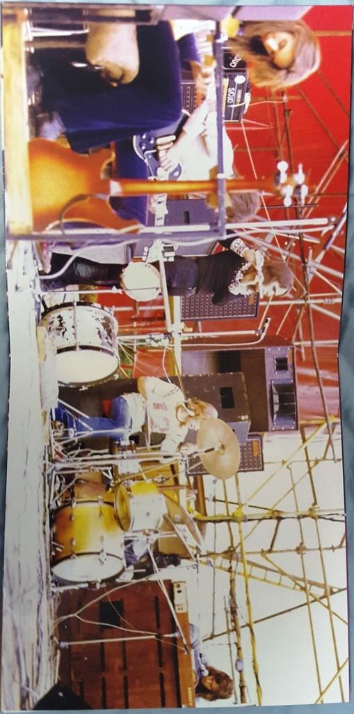 Genesis - Live In Rome April 1972 500枚限定アナログ・レコード