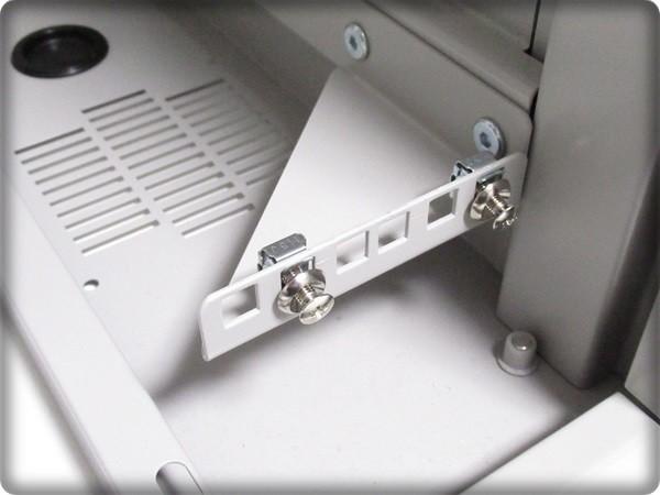 ◆大特価品◆ 簡易使用 傷が少ない絶品 サンワサプライ 【1U規格】 サーバーラック LANハブラック PCケースにも 鍵2本付属 定価5万円を格安_画像7