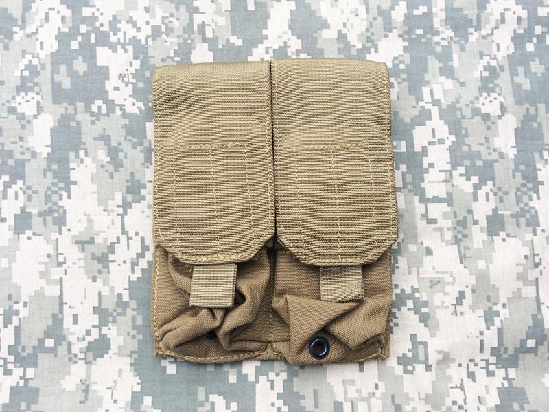 実物 米軍放出品 LBT-9010B M4 M16 ダブル マガジンポーチ CB     (seals devgru marsoc eod 6094 8k49_画像1