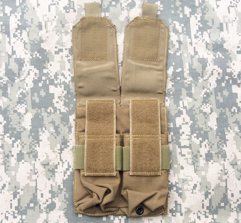 実物 米軍放出品 LBT-9010B M4 M16 ダブル マガジンポーチ CB     (seals devgru marsoc eod 6094 8k49_画像2