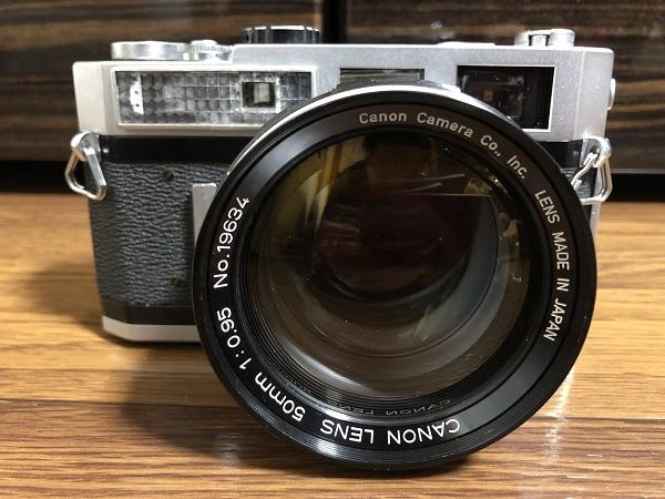 canon キャノン フィルムカメラ 7 50mm f0.95 レンズ