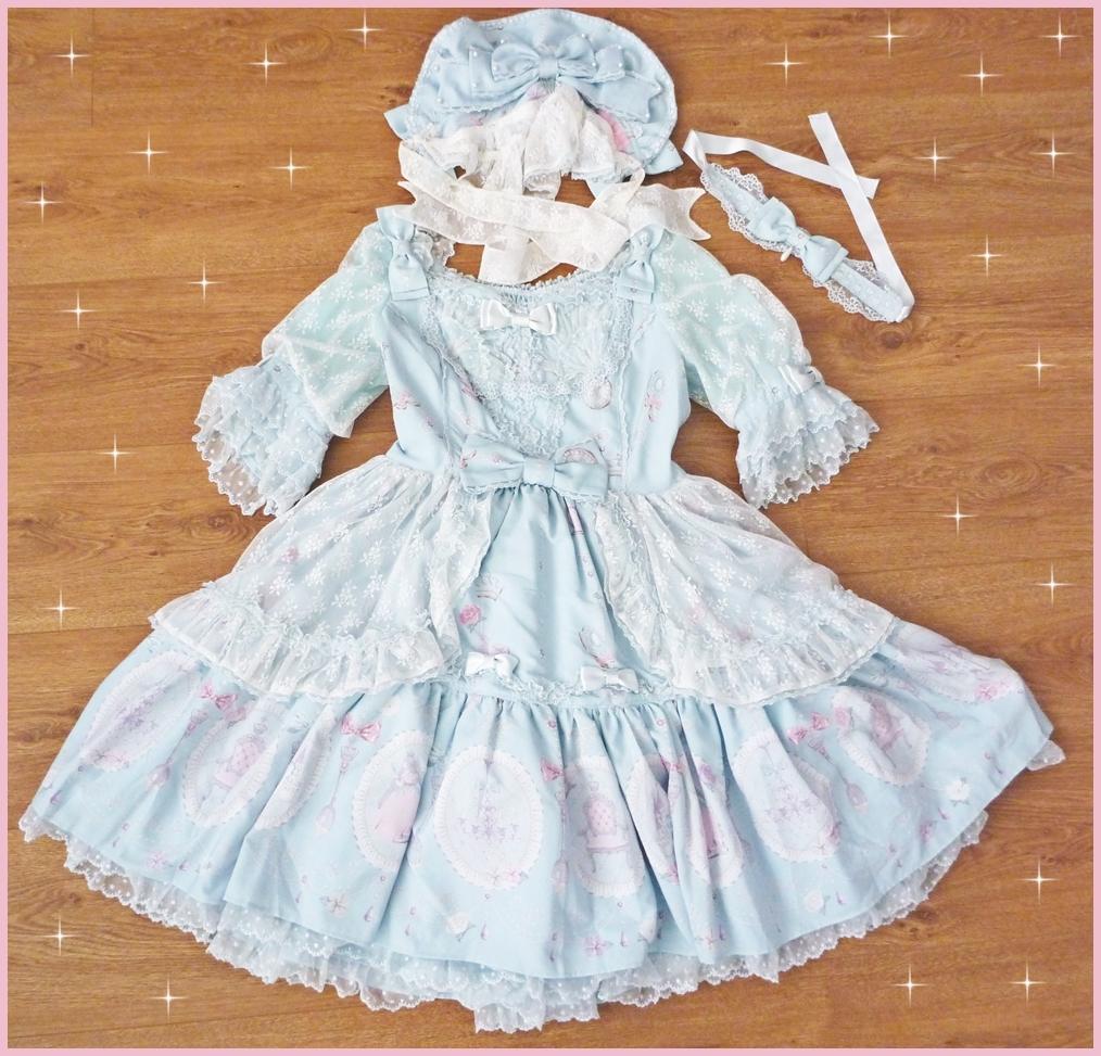 今井キラ×Angelic Pretty La Princesse Sucre La Princesse Sucre プレミアムドレスセット