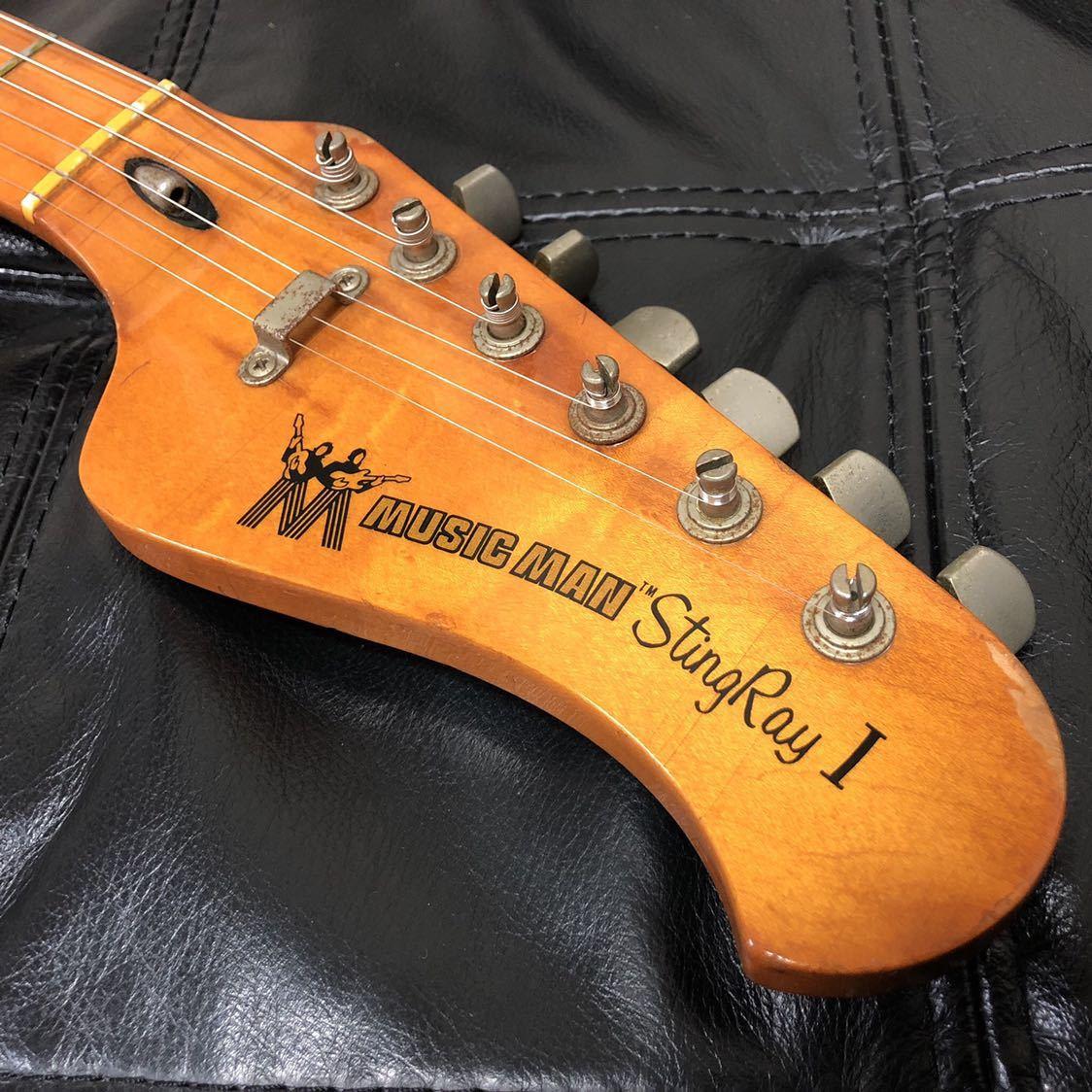 希少 年代物 MUSIC MAN Sting Ray I エレキギター_画像2