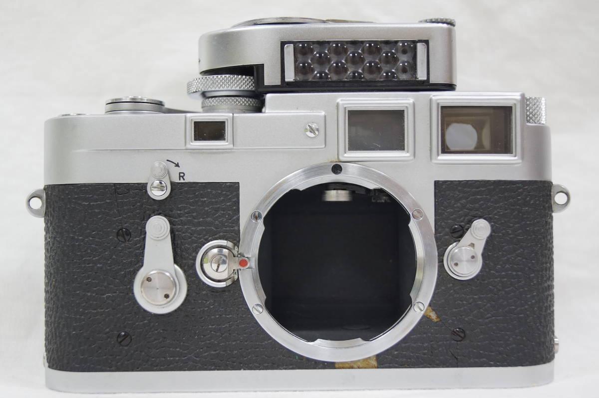 ♥♥#7099 【ライカファン】 Leica M3/ズミクロン 50mm/f2,メーター,フード,古いカタログ,革ケース ♥♥_画像3