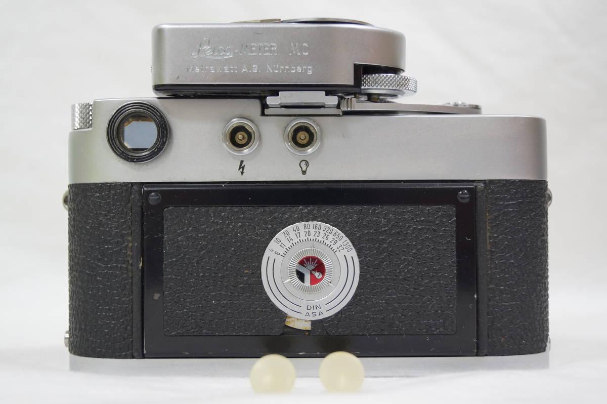 ♥♥#7099 【ライカファン】 Leica M3/ズミクロン 50mm/f2,メーター,フード,古いカタログ,革ケース ♥♥_画像4