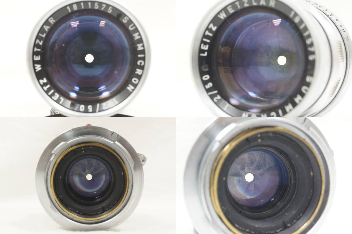 ♥♥#7099 【ライカファン】 Leica M3/ズミクロン 50mm/f2,メーター,フード,古いカタログ,革ケース ♥♥_画像8