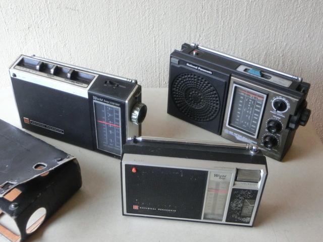 NATIONALPANASONIC 古いラジオ3台 RF-844 RF-850 RF-690 ジャンク