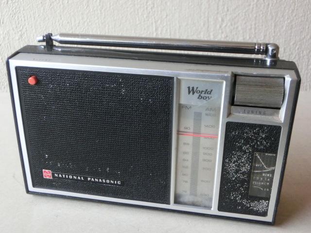 NATIONALPANASONIC 古いラジオ3台 RF-844 RF-850 RF-690 ジャンク_画像3
