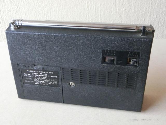 NATIONALPANASONIC 古いラジオ3台 RF-844 RF-850 RF-690 ジャンク_画像4