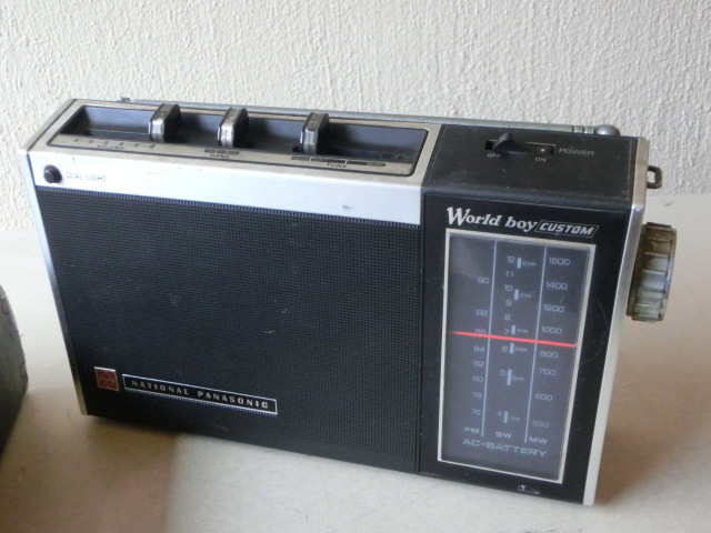 NATIONALPANASONIC 古いラジオ3台 RF-844 RF-850 RF-690 ジャンク_画像8