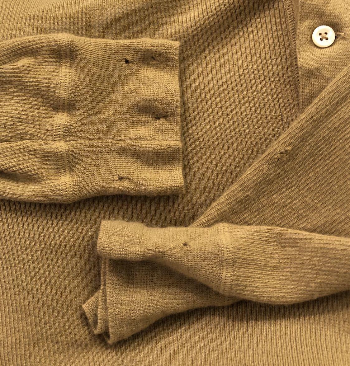 希少 POLO RALPH LAUREN カシミヤ 100% ヘンリーネック ニット セーター XL キャメル ベージュ ポロ ラルフローレン カシミア カットソー_画像4