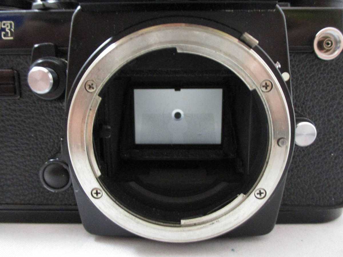 Nikon F3 ニコン エフスリー ボディ MF マニュアルフォーカス 動作未確認 中古品_画像2