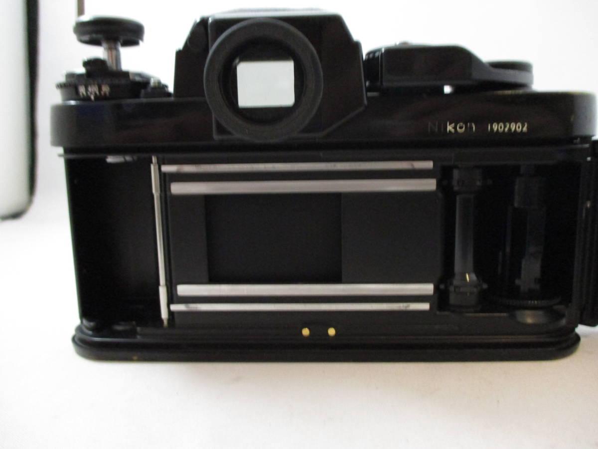 Nikon F3 ニコン エフスリー ボディ MF マニュアルフォーカス 動作未確認 中古品_画像5