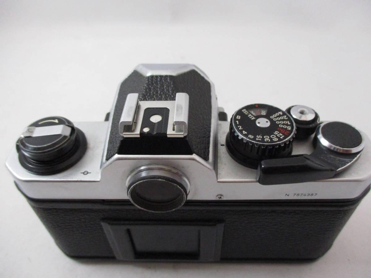 Nikon ニコン New FM2 ボディ シルバー 動作未確認 中古品_画像2