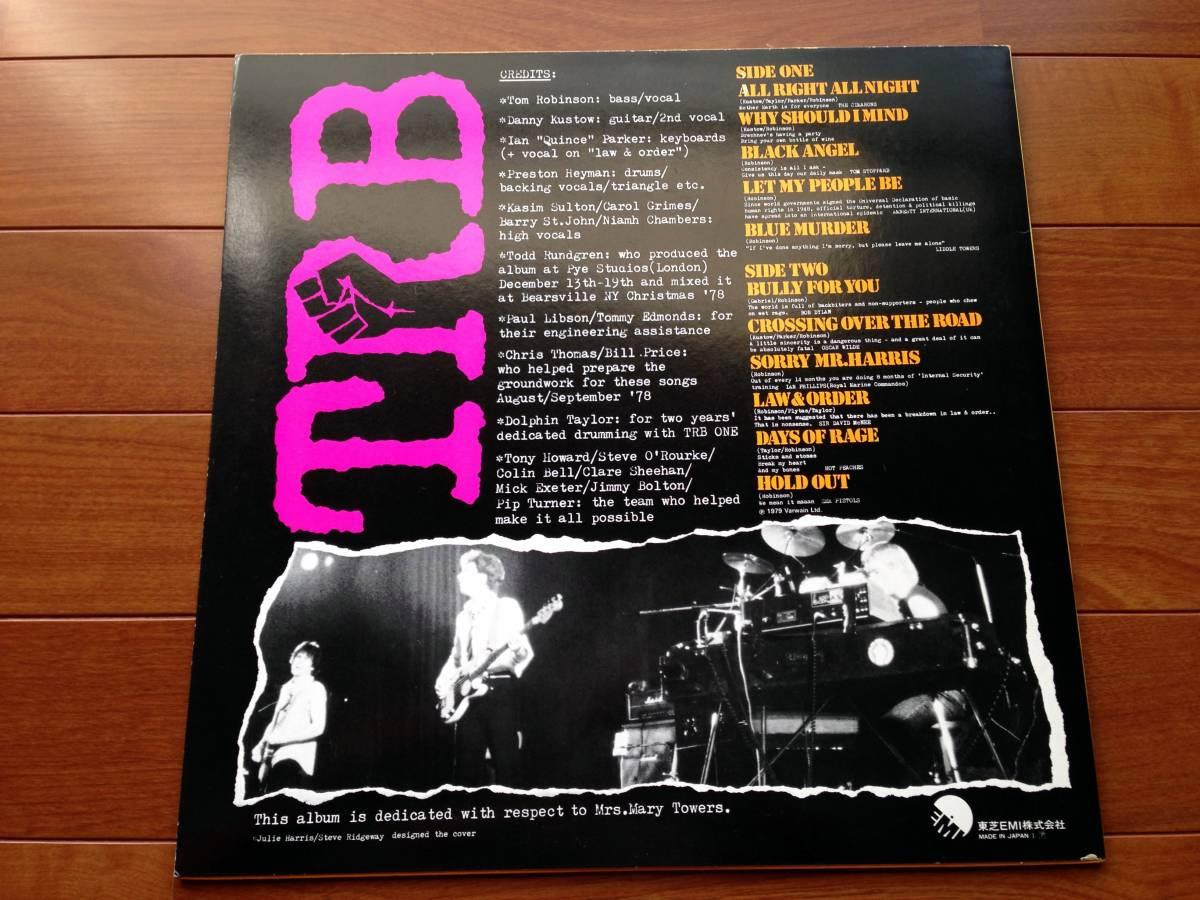 国内盤LP TOM ROBINSON BAND TRB TWO トムロビンソンバンド 2 /トッドラングレン・プロデュース TODD RUNDGREN 初期 punk power pop_画像2