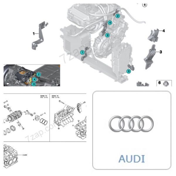web版パーツカタログ Audi アウディ A1 A2 200 A3 A3 A4 50 A5 A6 A7 A8 80 90 Q3 Q5 Q7 TT TTS R8 RS2 RS3 RS4 RS5 RS6 RS7 RSQ3 S6 TTRS_画像1
