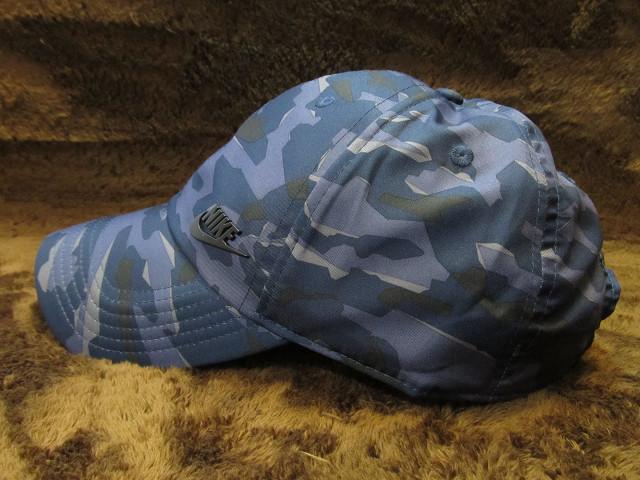 新品 未使用品 ナイキ NIKE 軽量 迷彩カモフラ キャップ 野球帽 帽子7 ゴルフ ランニングにも フリーサイズ プレミア1円スタート
