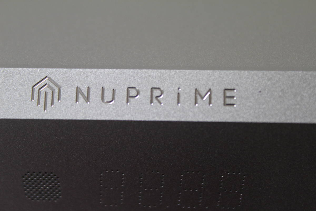 Nuprime DAC9 単体DAC兼プリアンプ 中古・美品_画像8