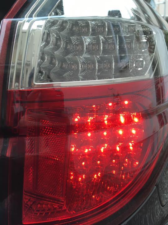 【廃盤希少品♪ 美品♪】レガシィツーリングワゴン アウトバック BP5 BP9 BPE 前期後期共通◆VALENTI ヴァレンティ製 LEDテールランプ JDM_画像10