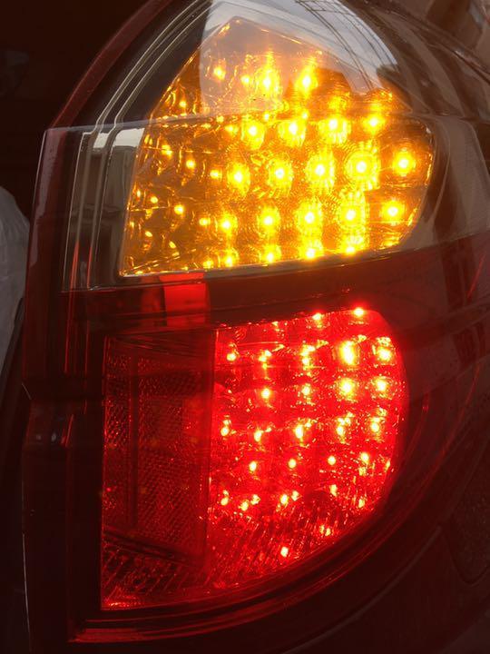【廃盤希少品♪ 美品♪】レガシィツーリングワゴン アウトバック BP5 BP9 BPE 前期後期共通◆VALENTI ヴァレンティ製 LEDテールランプ JDM_画像9