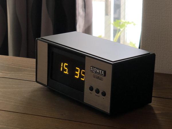 LEDアラームクロック ヴィンテージデザイン レトロクロック おしゃれ かっこいい 目覚まし時計 アラーム 置時計_画像2