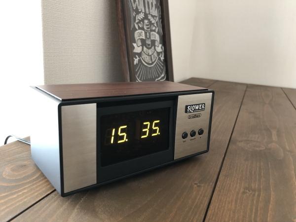 LEDアラームクロック ヴィンテージデザイン レトロクロック おしゃれ かっこいい 目覚まし時計 アラーム 置時計_画像4